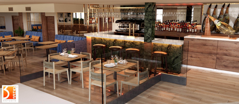 3D Restaurante 5 J Serrano