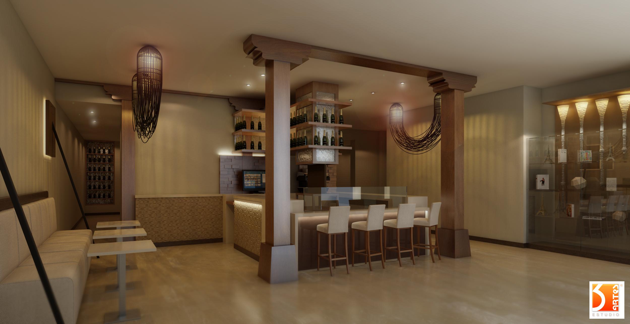 3D Restaurante Bistronomique