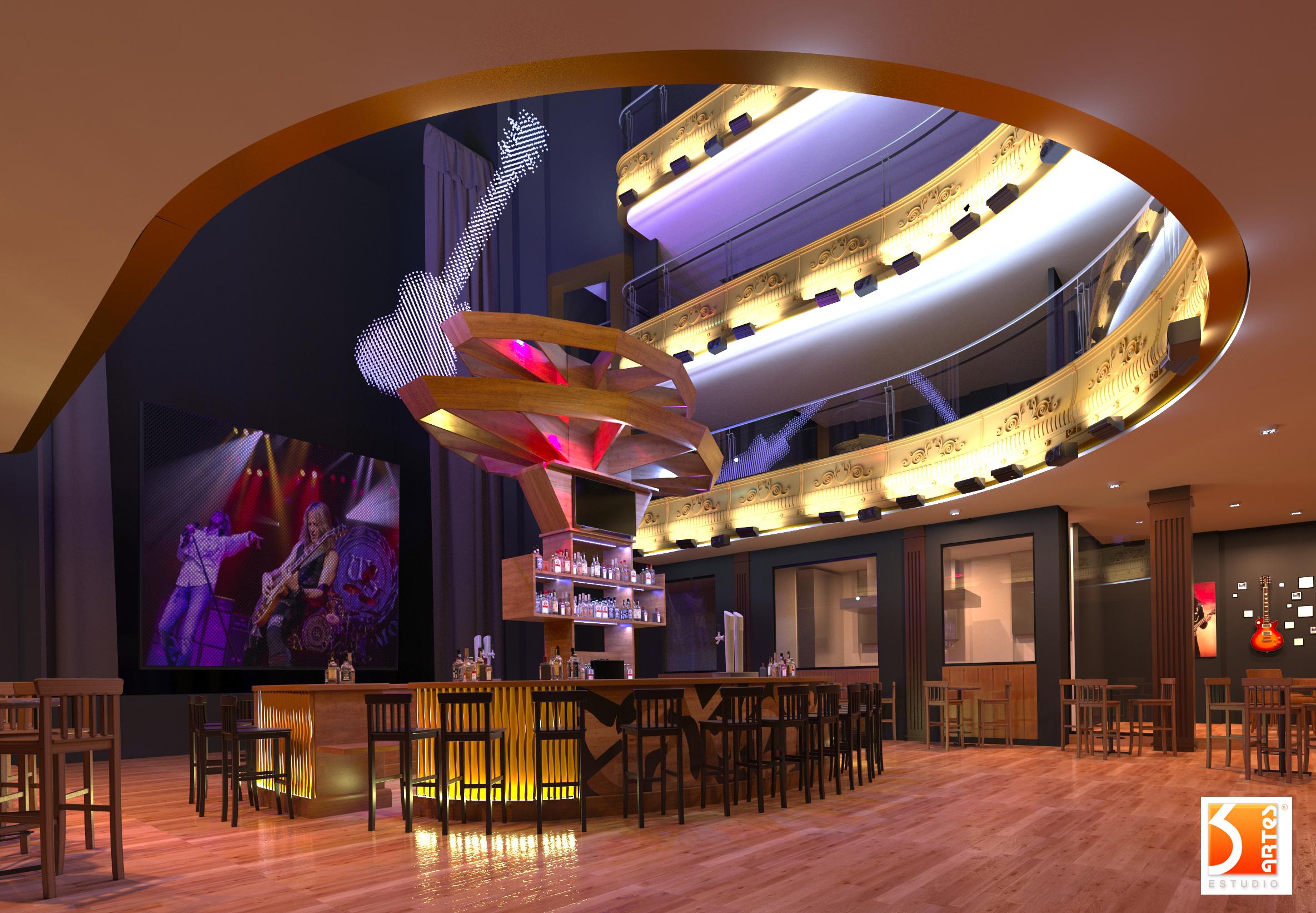 3D Hard Rock Café New Madrid